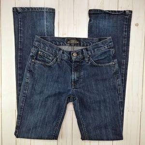 James Jeans Hunter Mid Rise Straight Leg Jeans